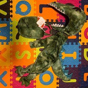 Light Up T-Rex Halloween Costume with Treat Bag